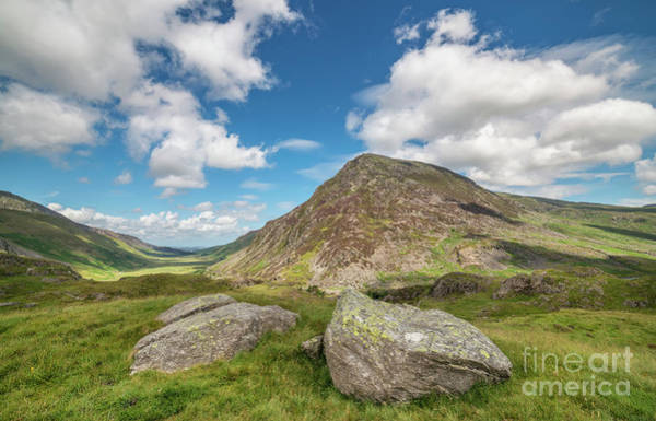 Bethesda Photograph - Nant Ffrancon Valley, Snowdonia by Adrian Evans