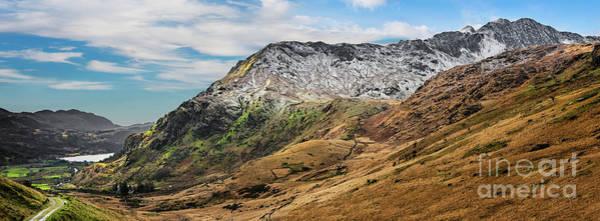 Photograph - Nant Gwynant Valley Snowdonia by Adrian Evans