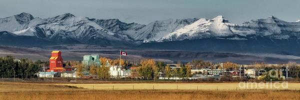 Photograph - Nanton, Alberta by Brad Allen Fine Art
