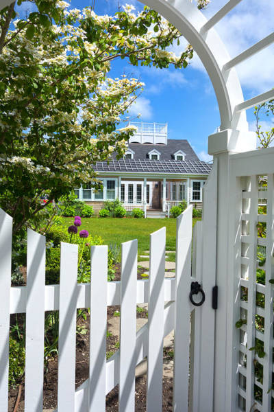 Photograph - Nantucket - Architecture Series 11y by Carlos Diaz