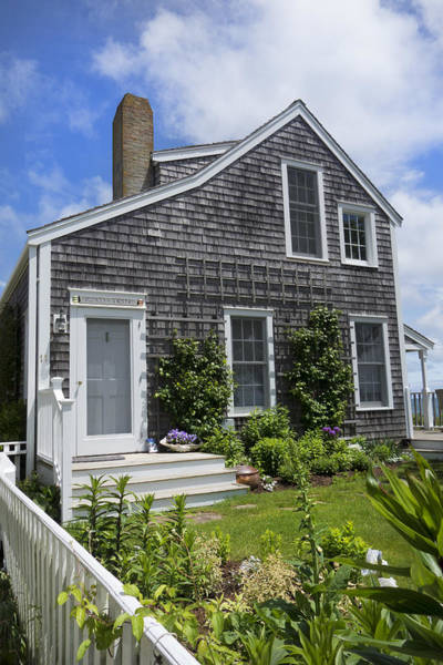 Photograph - Nantucket - Architecture Series 12y by Carlos Diaz