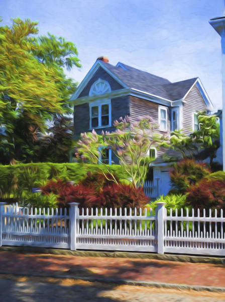 Photograph - Nantucket Architecture Series 7 - Y1 by Carlos Diaz