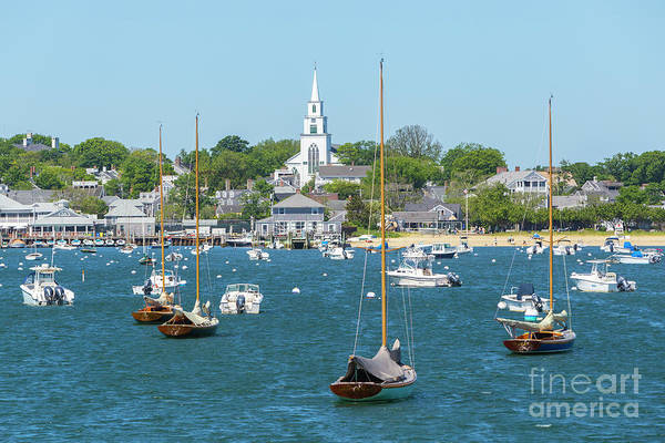 Photograph - Nantucket Harbor I by Clarence Holmes