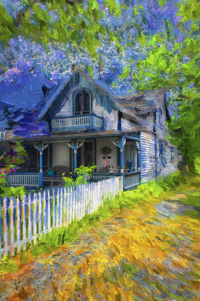 Photograph - Nantucket House - Architecture Series 21 by Carlos Diaz