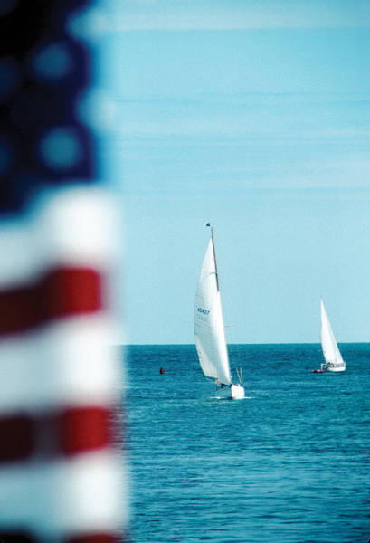 Photograph - Nantucket Sailing by Steve Somerville