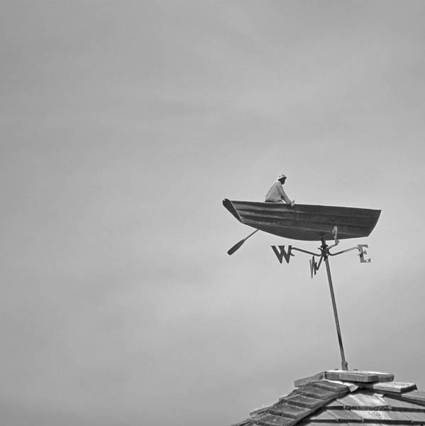 Weather Vane Photograph - Nantucket Weather Vane by Charles Harden