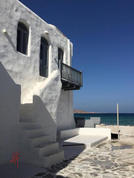 Photograph - Naoussa Village Paros Island  by Colette V Hera  Guggenheim