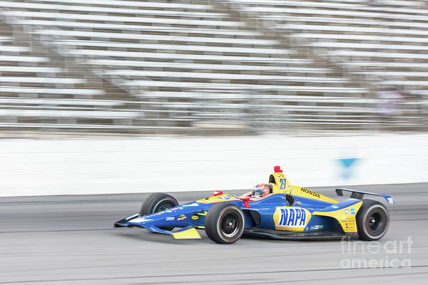 Photograph - Alexander Rossi Napa #27 2 by Paul Quinn