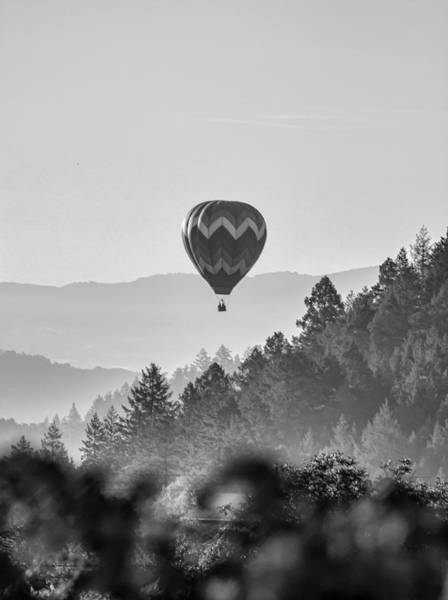 Photograph - Napa Balloon by Wes Jimerson