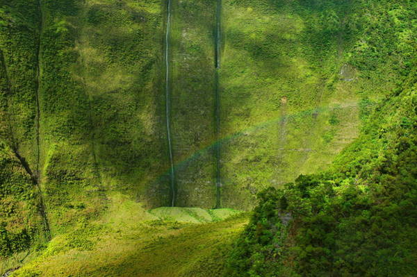 Wall Art - Photograph - Napai Rainbow - Kauai by Stephen  Vecchiotti