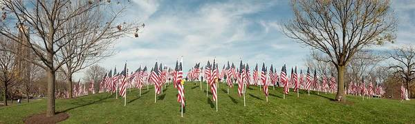 Photograph - Naperville Healing Field Of Honor At Rotary Hill by Michael Bessler