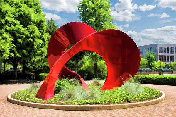 Painting - Naperville Landforms Sculpture by Christopher Arndt