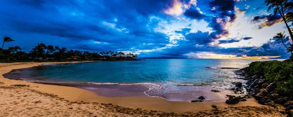 Napili Bay Photograph - Napili Bay Sunset Panorama by Dave Fish