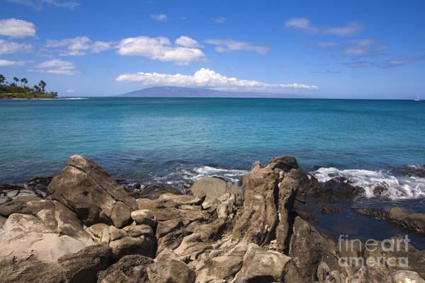 Napili Bay Photograph - Napili Bay With Lanai by Ron Dahlquist - Printscapes