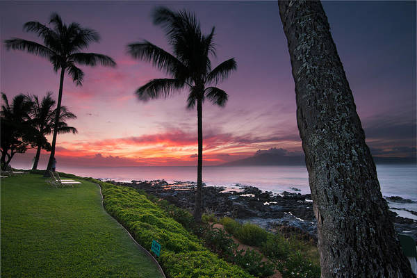 Napili Bay Photograph - Napili Beach Maui by Andre Distel