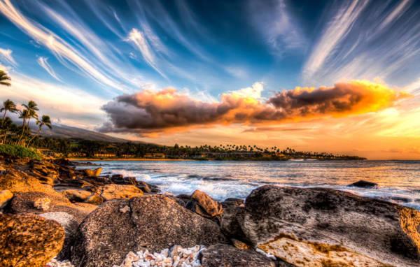 Napili Bay Photograph - Napilii Bay Sky by Eric West