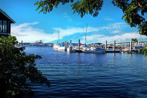 Photograph - Naples Harbor Series 4054 by Carlos Diaz