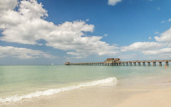 Photograph - Naples Pier by Framing Places