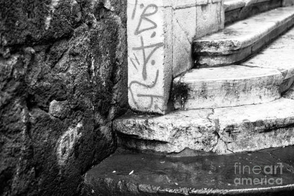 Wall Art - Photograph - Naples Stone Steps by John Rizzuto