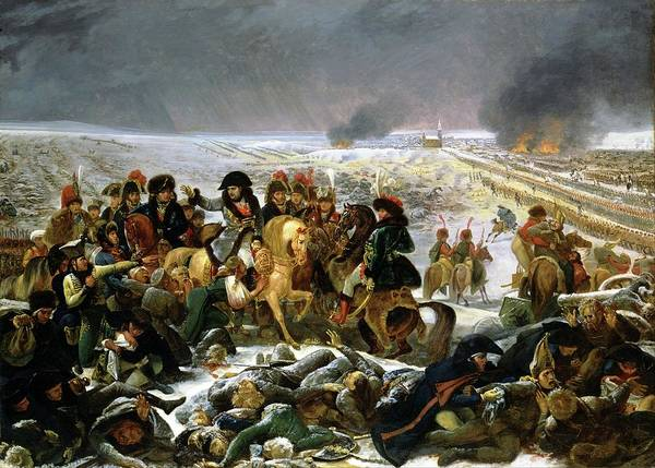 Painting - Napoleon At Eylau  by Antoine Jean Gros