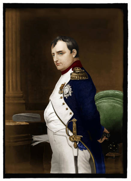 Photograph - Napoleon Bonaparte by Carlos Diaz