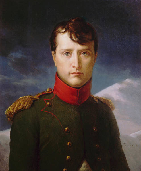 Napoleon Wall Art - Painting - Napoleon Bonaparte Premier Consul by War Is Hell Store