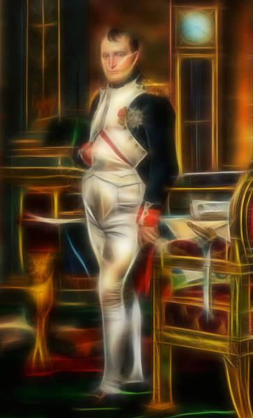 Famous People Digital Art - Napoleon Fractalized by Matthias Hauser