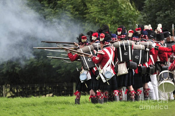 Re-enactment Wall Art - Photograph - Napoleonic Battle by Andy Smy
