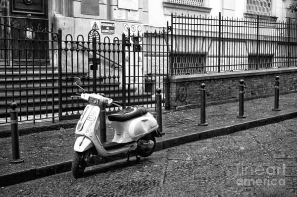 Wall Art - Photograph - Napoli Street Parking by John Rizzuto
