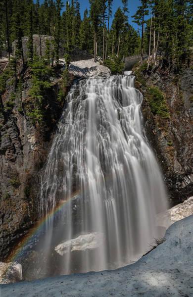 Photograph - Narada Falls In Winter by Harold Coleman