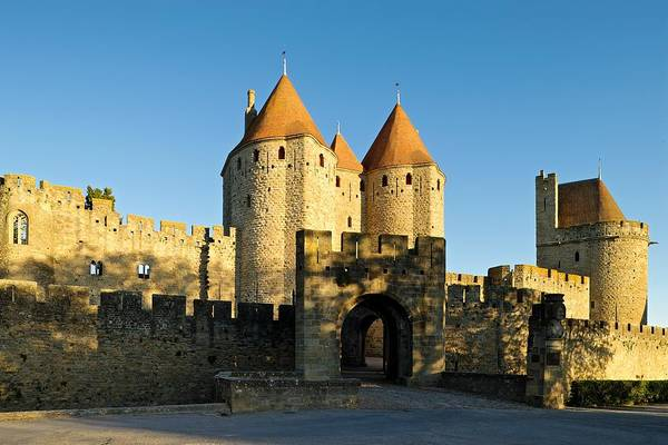 Photograph - Narbonne Gate Carcasonne by Stephen Taylor