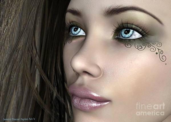 Wall Art - Digital Art - Narelle by Sandra Bauser Digital Art