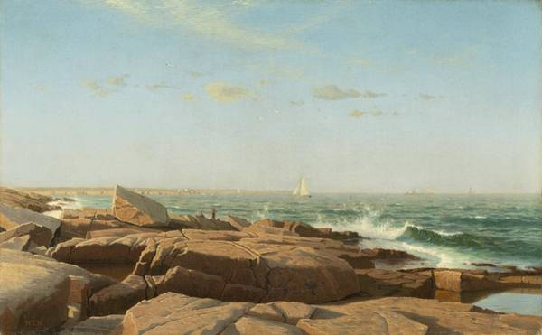 Wall Art - Painting - Narragansett Bay by William Stanley Haseltine