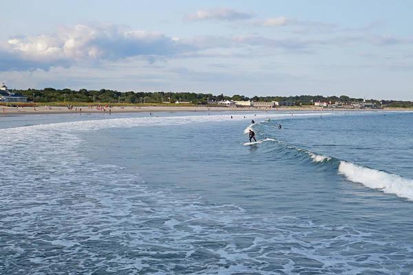 Photograph - Narragansett Beach Surfer Narragansett Rhode Island Ri by Toby McGuire
