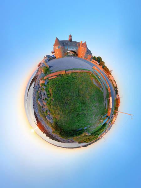 Wall Art - Photograph - Narragansett Towers - Planet by Christopher Blake
