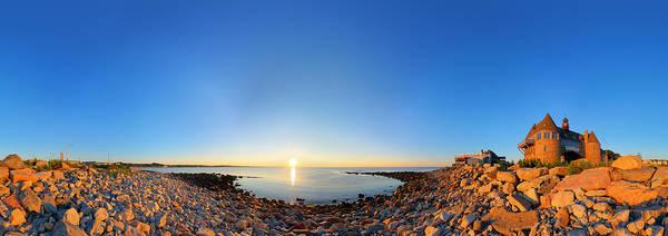 Narragansett Photograph - Narragansett Towers by Christopher Blake