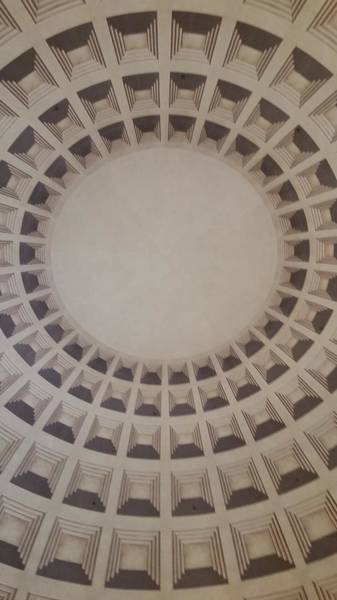 Photograph - Narrow View Of A Dome by Karen J Shine