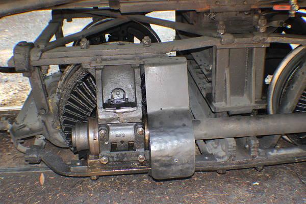 Photograph - Narrow Gauge Wheels by John Mathews