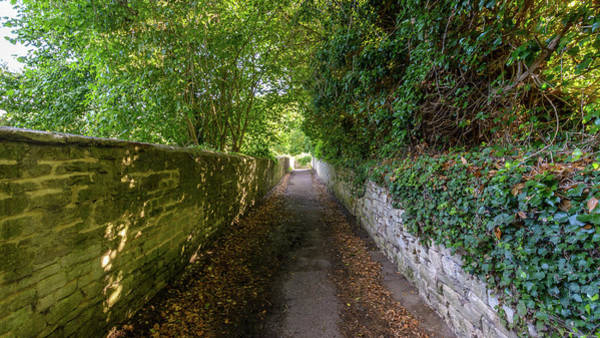 Photograph - Narrow Pathway In Bradford-on-avon by Jacek Wojnarowski