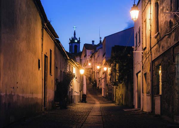 Photograph - Narrow Portuguese Street by Alexandre Rotenberg