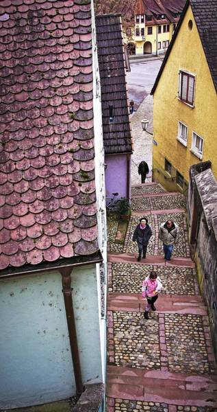 Photograph - Narrow Street In Breisach, Germany by Tatiana Travelways