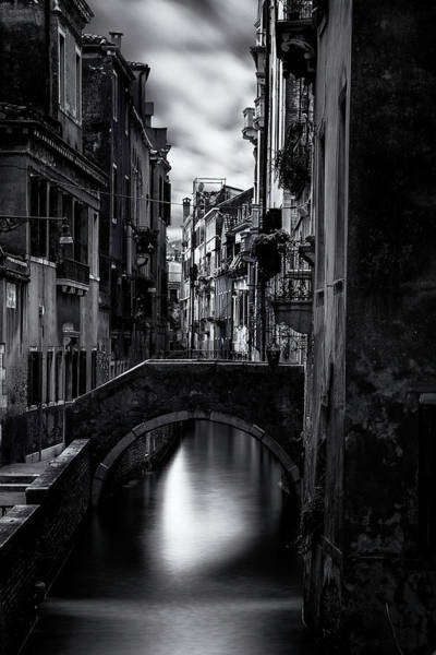 Wall Art - Photograph - Narrow Venice Canal by Andrew Soundarajan