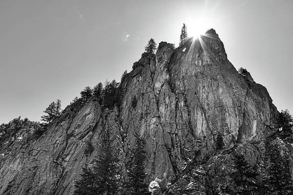 Photograph - Narrows Pinnacle Boulder Canyon by James BO Insogna