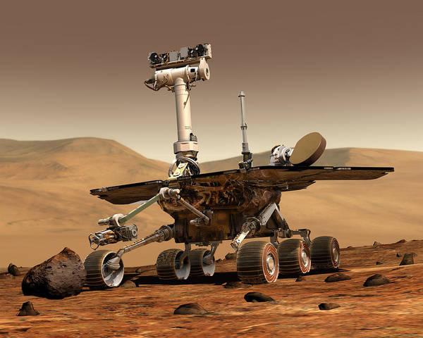 Photograph - Nasa Mars Rover by Artistic Panda