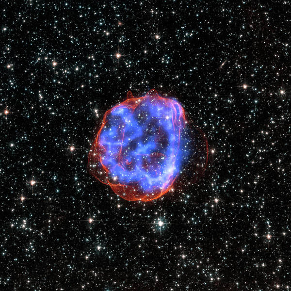 Photograph - Nasa-snr0519690-chandraxray Observatory-20150122 by Nasa