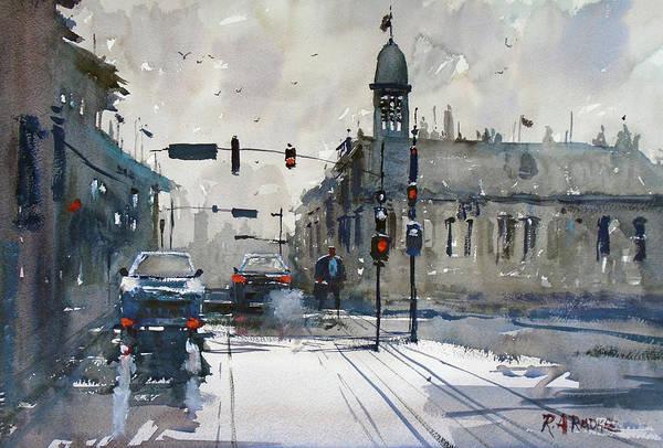 City Scene Painting - Nashville 2 by Ryan Radke