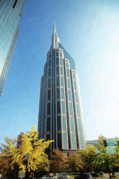 Photograph - Nashville Batman Building by Sue Collura