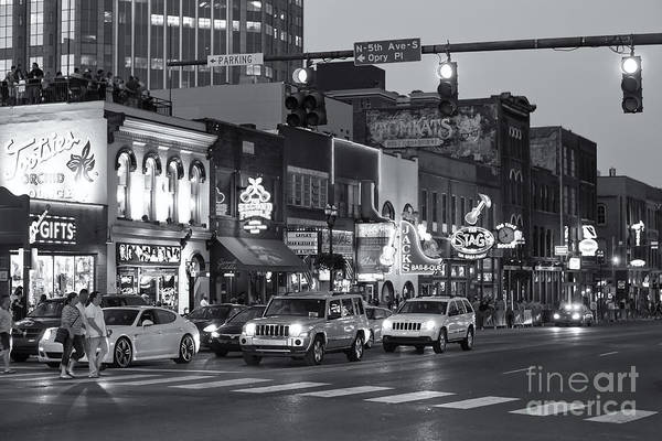 Photograph - Nashville Honky-tonk District II by Clarence Holmes