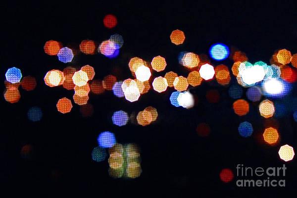 Photograph - Nashville Lights by Karen Adams