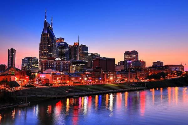 Photograph - Nashville Southern Nights by Carol Montoya